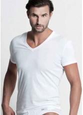 V Yaka Tişört Sipariş