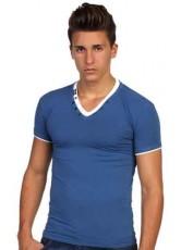 V Yaka Erkek Tişört