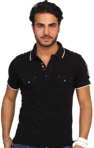 Polo yaka tişört üretim