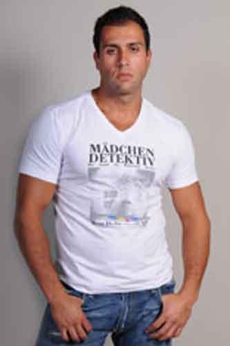 V yaka tişört imalat. Toptan v yaka  tişört satış